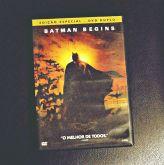 Filme Batman Begins (DVD Duplo) - USADO