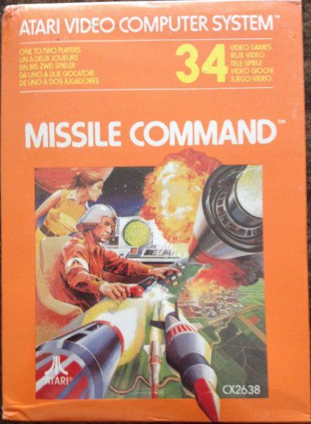 Missile Comando Novo Lacrado