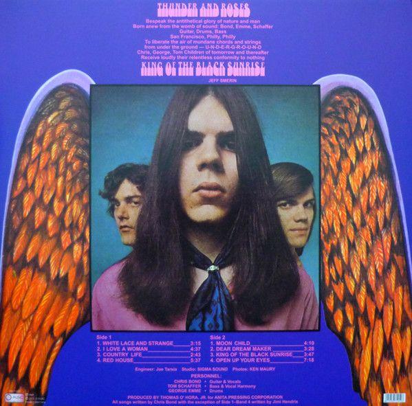 LP 12 - Thunder And Roses – King Of The Black Sunrise