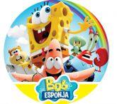 Papel Arroz Bob Esponja Redondo 006 1un