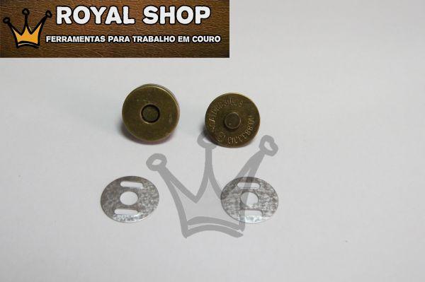 e36152b7c0 Botão Magnético Ouro Velho - TAM Pequeno - Royal Shop