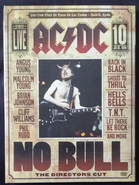 DVD - AC/DC – No Bull (The Directors Cut)