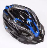 Capacete para bicicleta azul