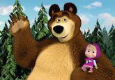 Papel Arroz Masha e o Urso A4 001 1un