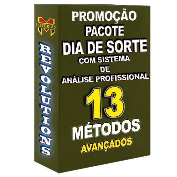PROMOÇÃO DIA DE SORTE,todos os 13 métodos que disponho por um preço especial.