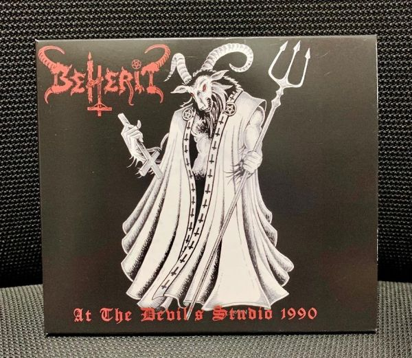 BEHERIT - At the Devil's Studio 1990 - CD (Slipcase)