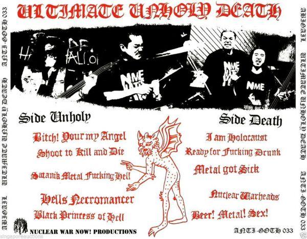 ABIGAIL -Ultimate Unholy Death Metal -