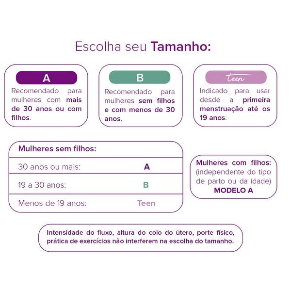 Inciclo - Tamanho B + Teen - Kit com 1 unidade tamanho B + 1 unidade tamanho Teen