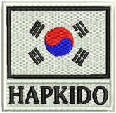 AM122 - Bandeira Coreia Sul Leg Hapkido