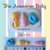 Trio Acessórios Baby