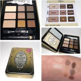 Paleta de sombras hard candy natural eyes