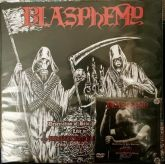 BLASPHEMY - Desecration of Belo Horizonte - Live in Brazilian Ritual Fifth Attack - LP Preto + DVD