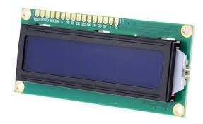 COD 1617 - Display LCD WH 1602 A Azul