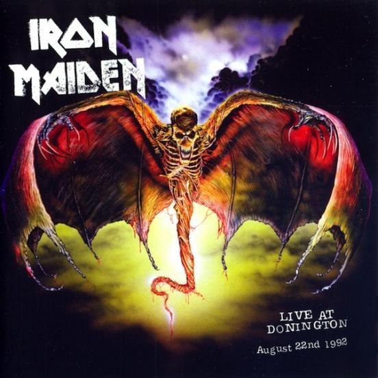 Iron Maiden - Live At Donington (usado em ótimo estado)