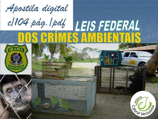 zz   Lei Federal dos Crimes Ambientais nº 9.605-98