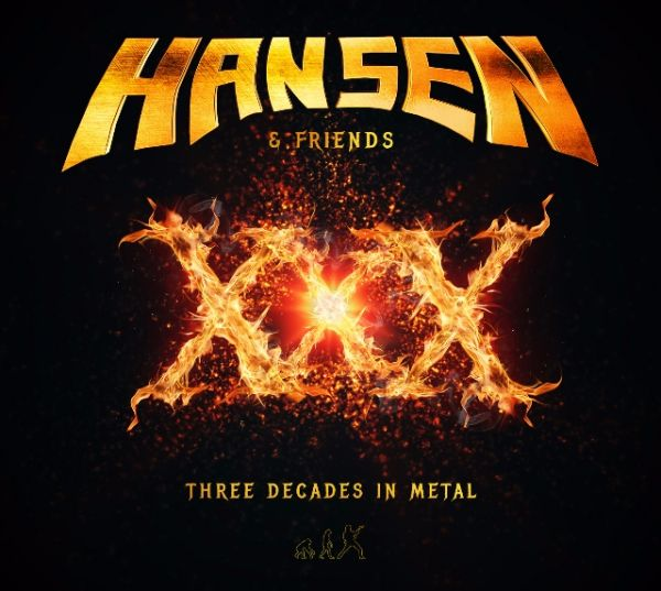 Hansen (& Friends) - XXX: Three Decades in Metal (CD DUPLO)