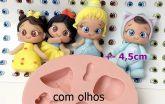 Kit com 05 Cartelas de Olhos Moana 410PP - 100 pares de olhos cada