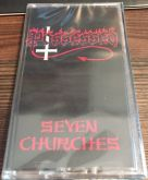POSSESSED - Seven Churches - CASSETE