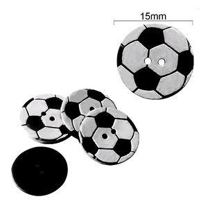 Botão bola de futebol com 12 unidades - Feltros   Filós 7c8aa5e007a73