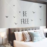 .BE FREE