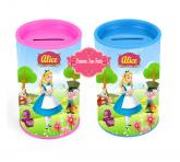 Cofrinho Alice no País das Maravilhas