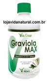 Graviola Max 500ml + Vitaminas A, C, E + Selênio