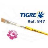 Pincel 847 Tigre Chanfrado