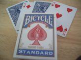 Baralho Bicycle Rider Back Standard   dorso Vermelho   #398