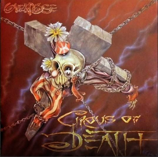 CD - Overdose - Circus of Death (+DVD)