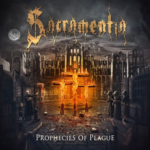 - CD Sacramentia - Prophecies of Plague (Digipack)