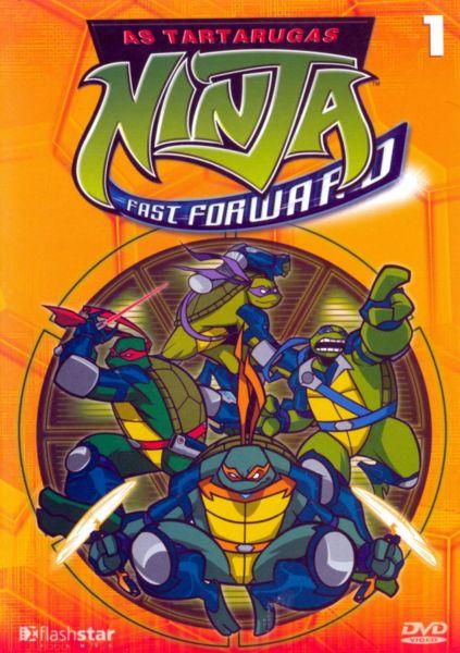 As Tartarugas Ninja Fast Forward Dublado