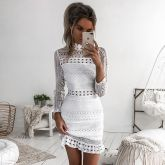 Vestido  Branco cod 0014