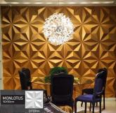 Revestimento Placas Decorativas 3D Board - Para Áreas Externas e Internas - Monlotus