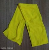 Meia de Seda Amarela (Unidade)
