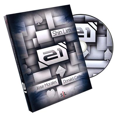 21 by Shin Lim, Donald Carlson & Jose Morales - DVD-R #1082