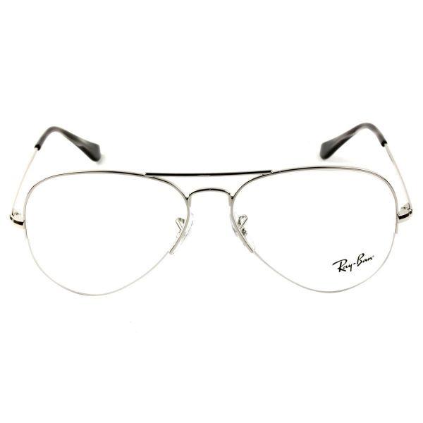 320f64477f2f2 Óculos Ray Ban Aviador RX6589 2501 56 - Grau - PRESENTES.COM