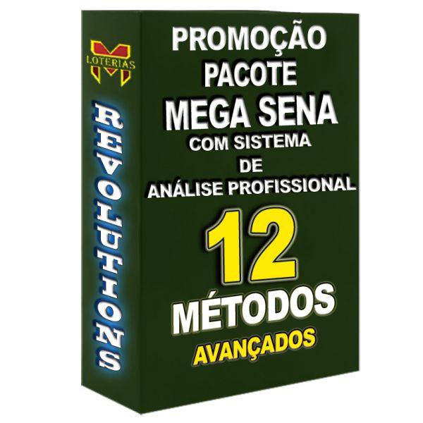 PROMOÇÃO MEGA SENA, todos os 12 métodos que disponho por um preço especial.
