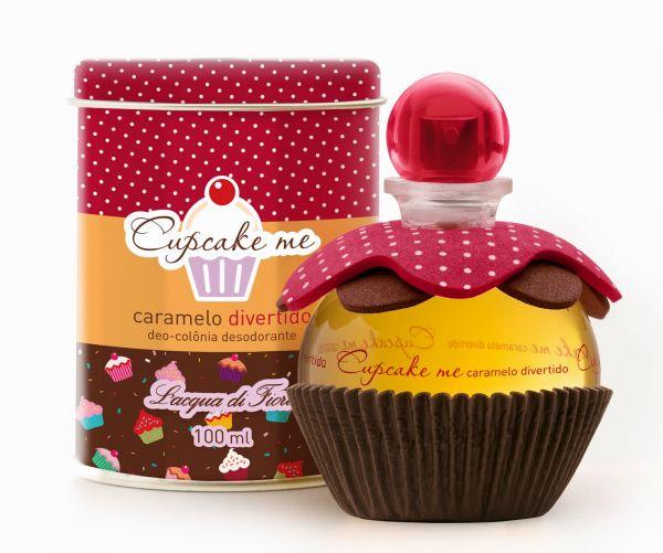 Perfume Cupcake me Caramelo Divertido, L'acqua Di Fiori, 100 ML