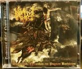 IN INFERNAL WAR - Dilacerando Entranhas Em Pugnas Barbaries - CD (Slipcase)