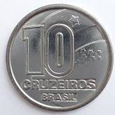 10 Cruzeiros 1992 SOB/FC