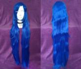 Peruca Azul Lisa - 100cm - Resistente ao Calor