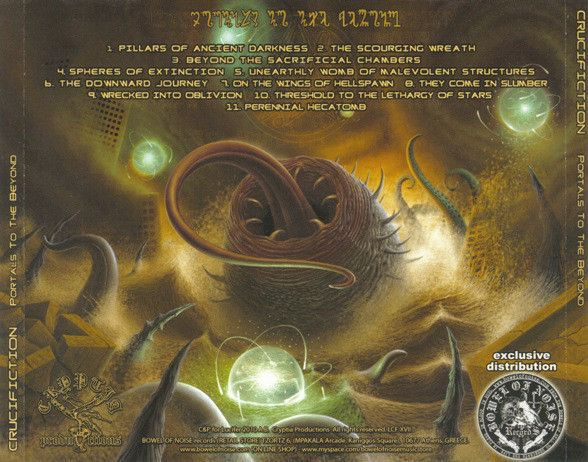 CRUCIFICTION - Portals to the Beyond - CD