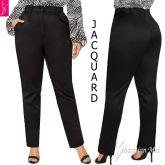 Calça social preta(P-M-G),flare ou reta, bolsos frente