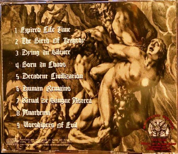AD BACULUM - The Birth of Human Tradegy - CD