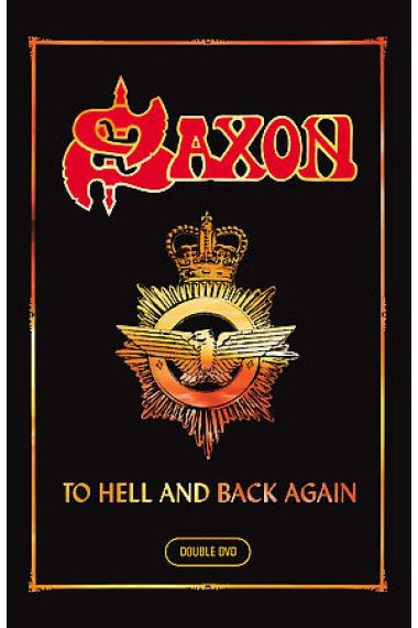 DVD - Saxon – To Hell And Back Again