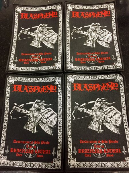 BLASPHEMY - Desecration of Sao Paulo - Live in Brazilian Ritual Third Attack - Patch
