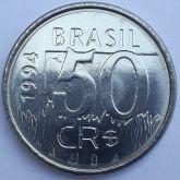 50 Cruzeiros Reais 1994 SOB/FC