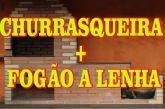 Projeto Churrasqueira + Fogão a Lenha