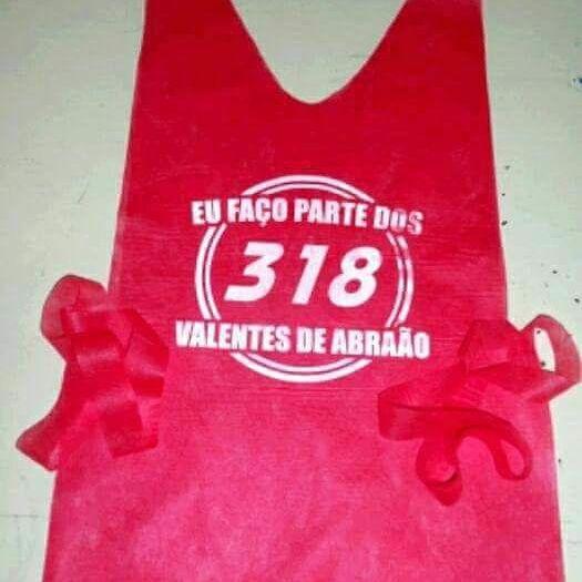 Colete 318 valentes de Abraão