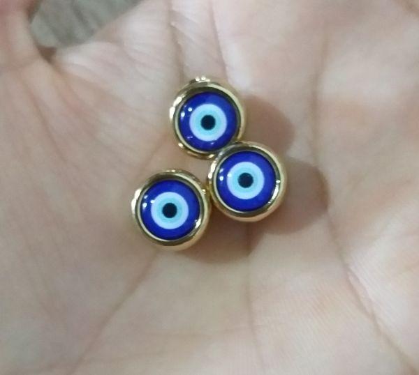 Passador olho grego Dourado(unidade)